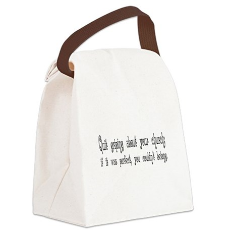 Quit Griping Canvas Lunch Bag