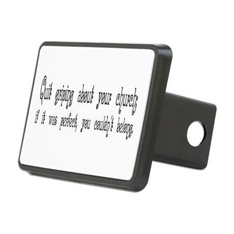 Quit Griping Rectangular Hitch Cover