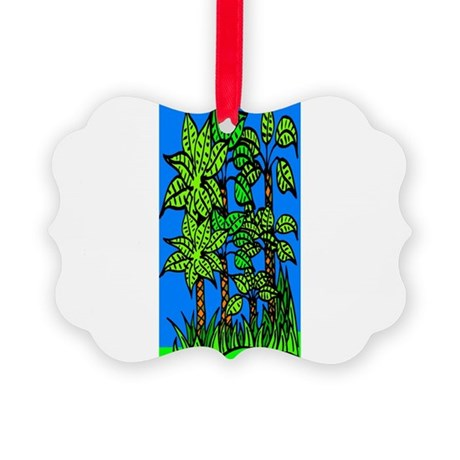 trees.jpg Picture Ornament