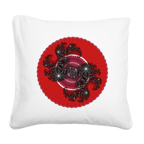 004a.png Square Canvas Pillow