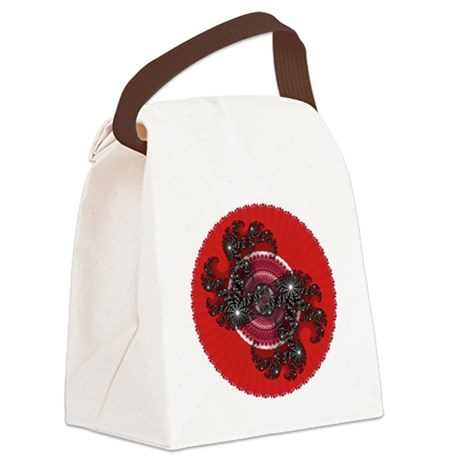 004a.png Canvas Lunch Bag