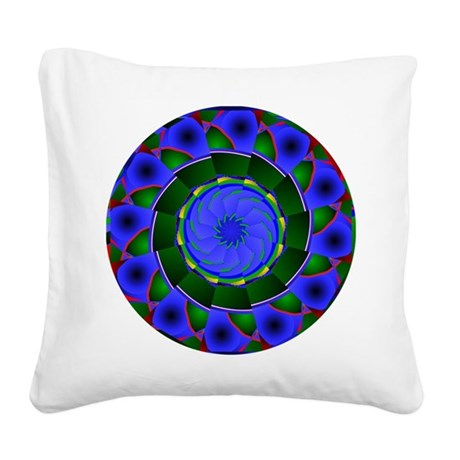 0001a.png Square Canvas Pillow
