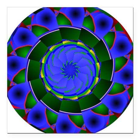 "0001a.png Square Car Magnet 3"" x 3"""