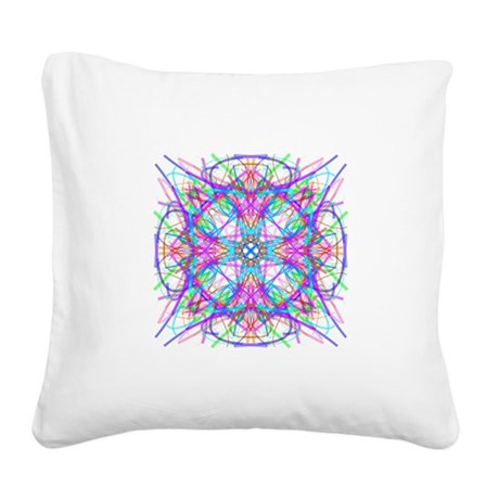 005a.png Square Canvas Pillow