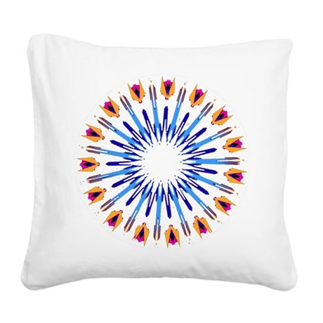 003d.png Square Canvas Pillow