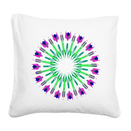 003c.png Square Canvas Pillow