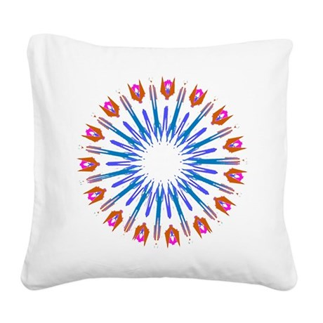 003a.png Square Canvas Pillow