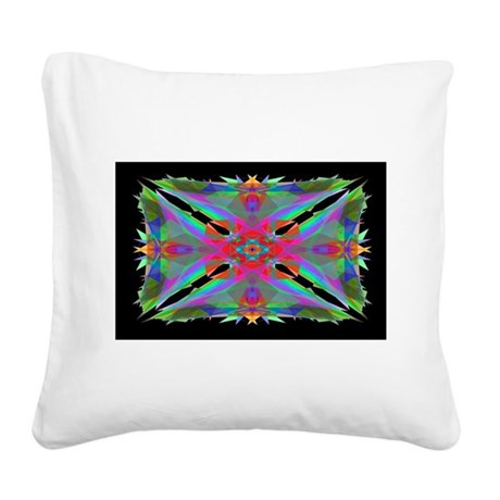 000b.png Square Canvas Pillow