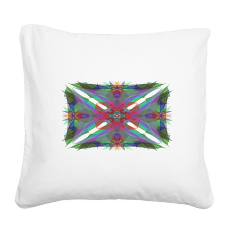 000.png Square Canvas Pillow