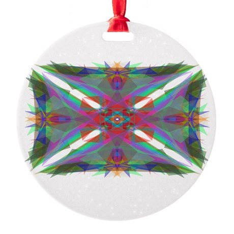 000.png Round Ornament