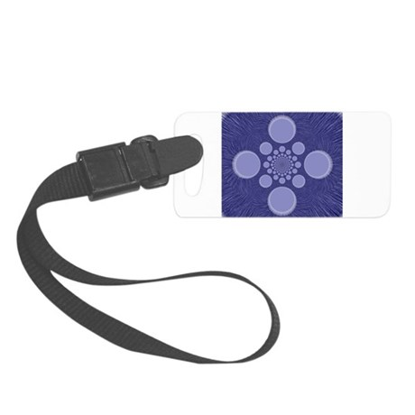 abstract.png Small Luggage Tag