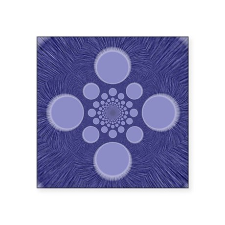 "abstract.png Square Sticker 3"" x 3"""
