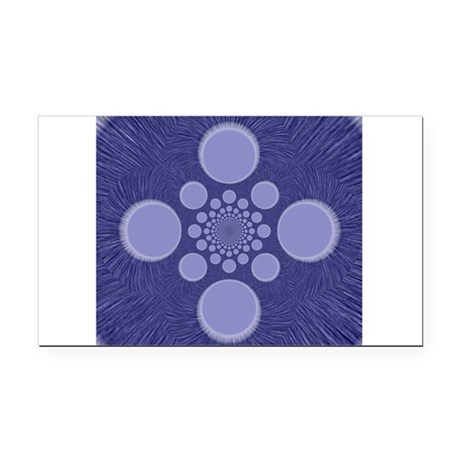 abstract.png Rectangle Car Magnet