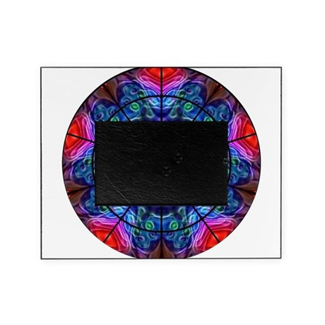 Kaleidoscope Fractal 8 Picture Frame