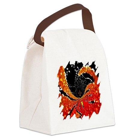 Crystal Web Canvas Lunch Bag
