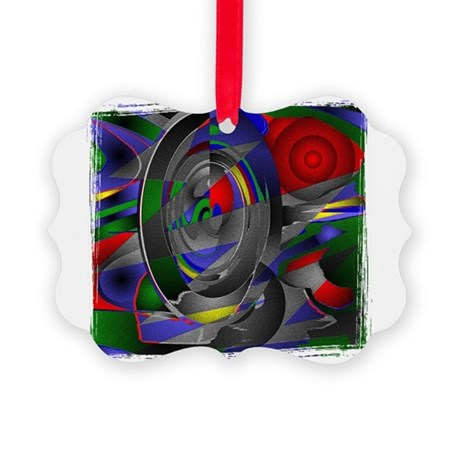 Abstract 002a Picture Ornament