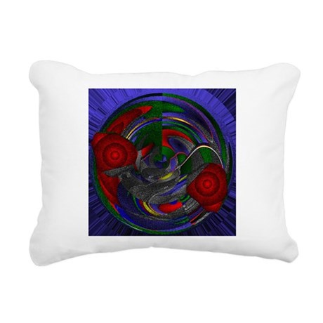 Abstract 005 Rectangular Canvas Pillow