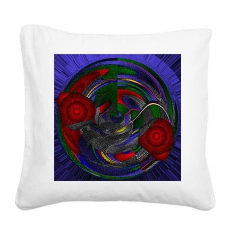 Abstract 005 Square Canvas Pillow