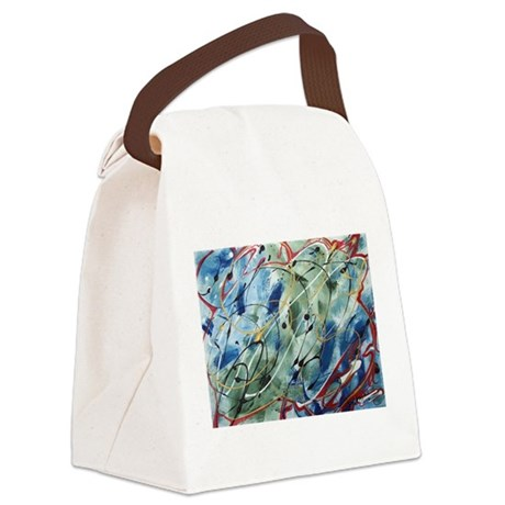 abstact0001c.JPG Canvas Lunch Bag