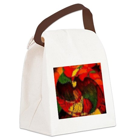 eagle1a.JPG Canvas Lunch Bag
