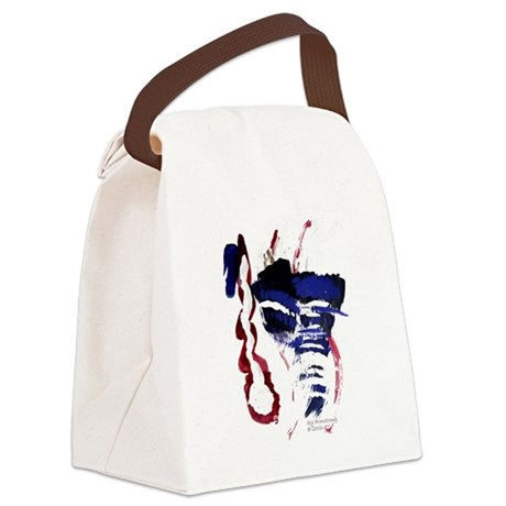 The River Canvas Lunch Bag
