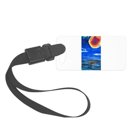 Asteroid Small Luggage Tag