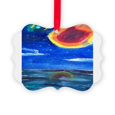Asteroid Picture Ornament