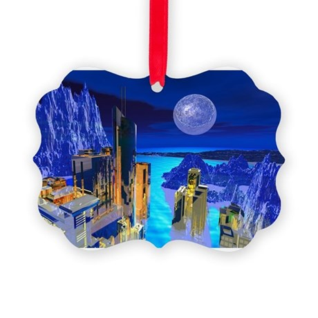 buildings1.jpg Picture Ornament