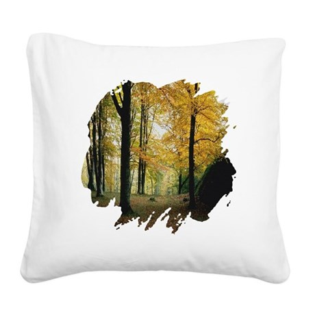 autumn Square Canvas Pillow
