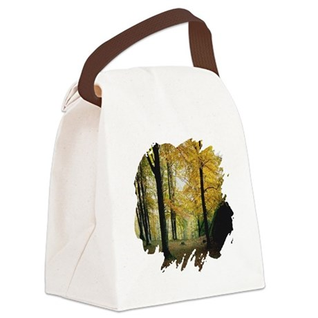 autumn Canvas Lunch Bag
