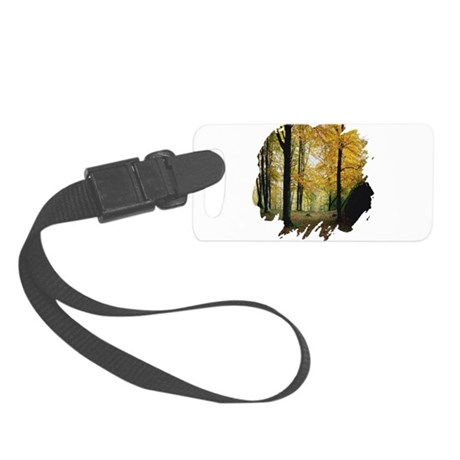 autumn Small Luggage Tag