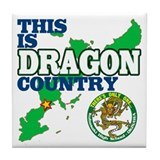 Dragon Country Tile Coaster