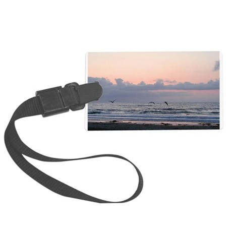 Ocean Scene Large Luggage Tag