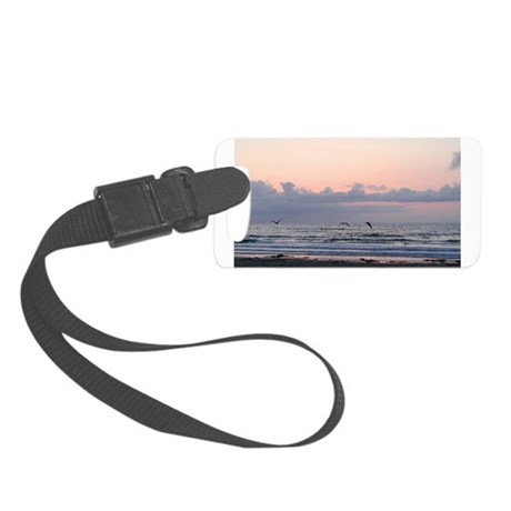 Ocean Scene Small Luggage Tag