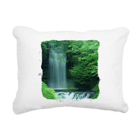 Glencar Lough Rectangular Canvas Pillow