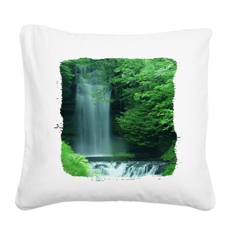 Glencar Lough Square Canvas Pillow