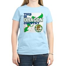Dragon Country Women's Pink T-Shirt