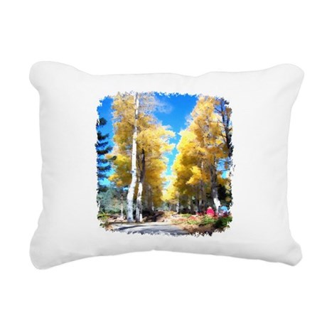 Aspen Trail Rectangular Canvas Pillow