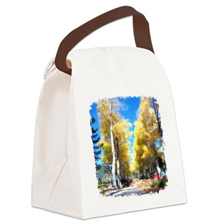 Aspen Trail Canvas Lunch Bag