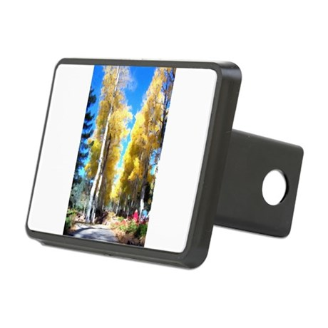 Aspen Trail Rectangular Hitch Cover