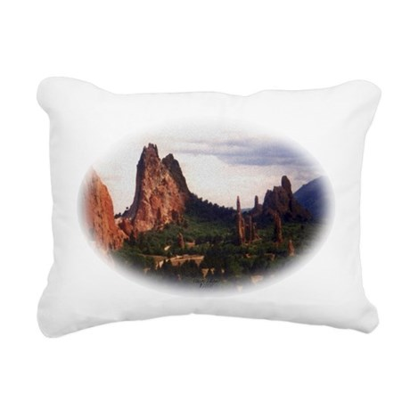 Offroad Majesty Rectangular Canvas Pillow