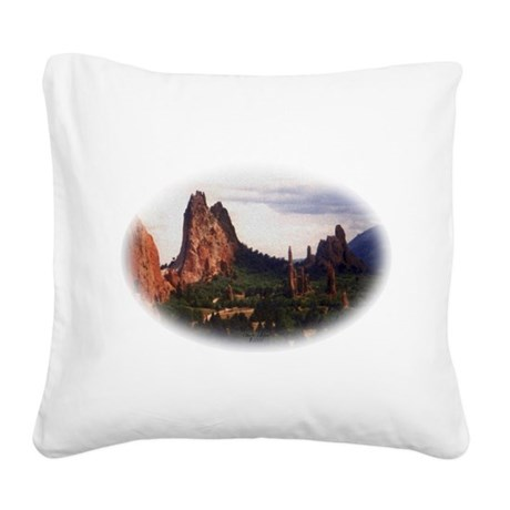 Offroad Majesty Square Canvas Pillow