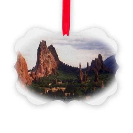 Offroad Majesty Picture Ornament