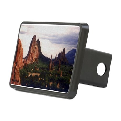 Offroad Majesty Rectangular Hitch Cover