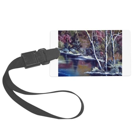 Aspen Reflections Large Luggage Tag