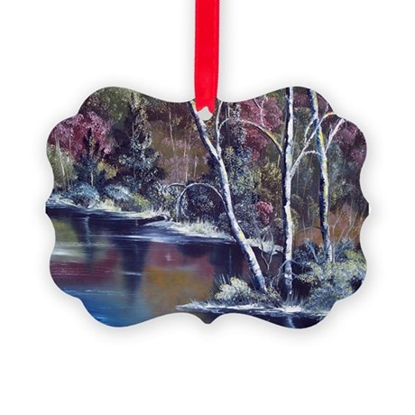 Aspen Reflections Picture Ornament