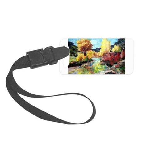 Autumn Canyon Small Luggage Tag