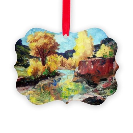 Autumn Canyon Picture Ornament