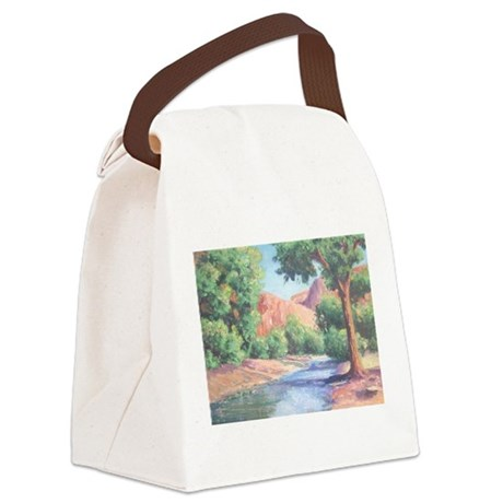 Summer Canyon Canvas Lunch Bag
