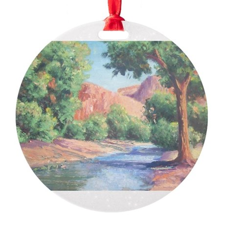 Summer Canyon Round Ornament